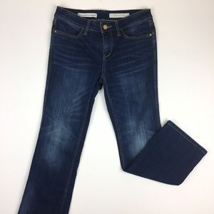 Pilcro and the Letterpress Dark Wash Stet Jeans
